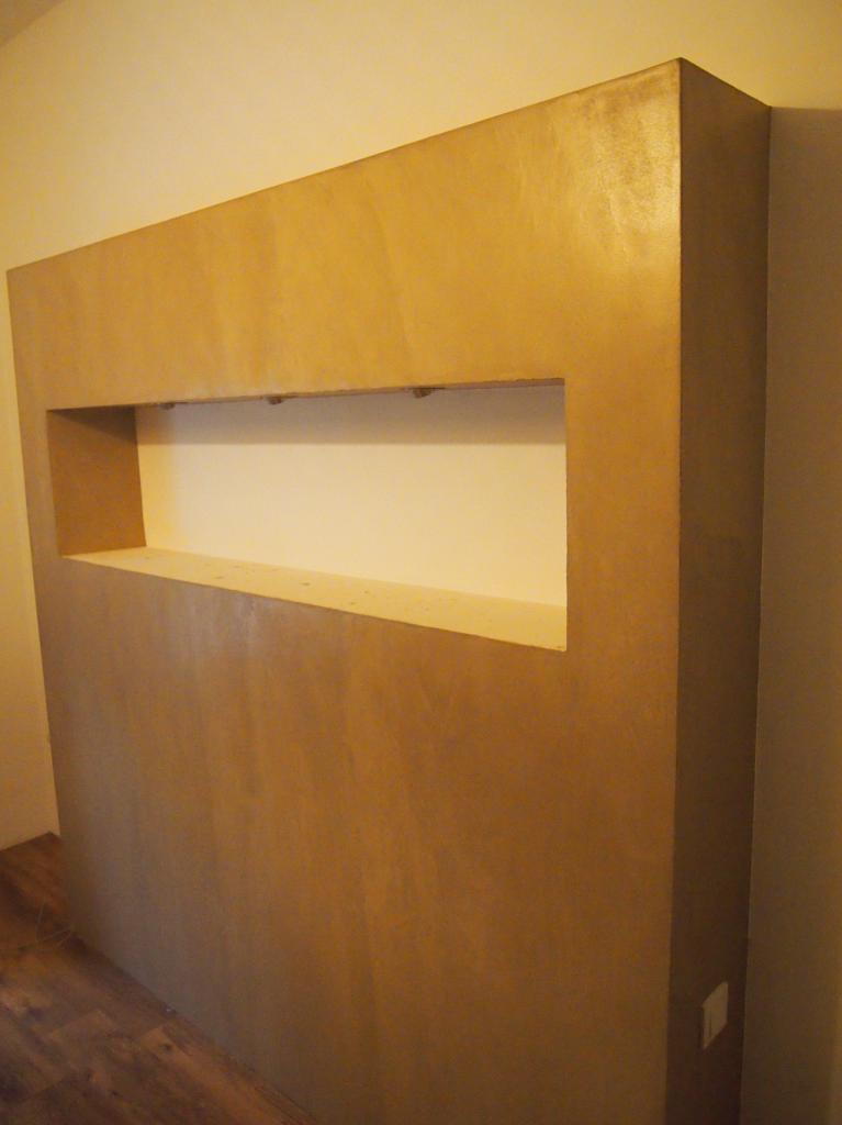 B ton cir couleur tasmanie de chez mercadier for Mercadier beton cire
